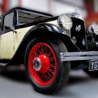 Vintage cars including the Austin 7