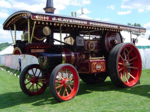 The Iron Maiden Steam Engine