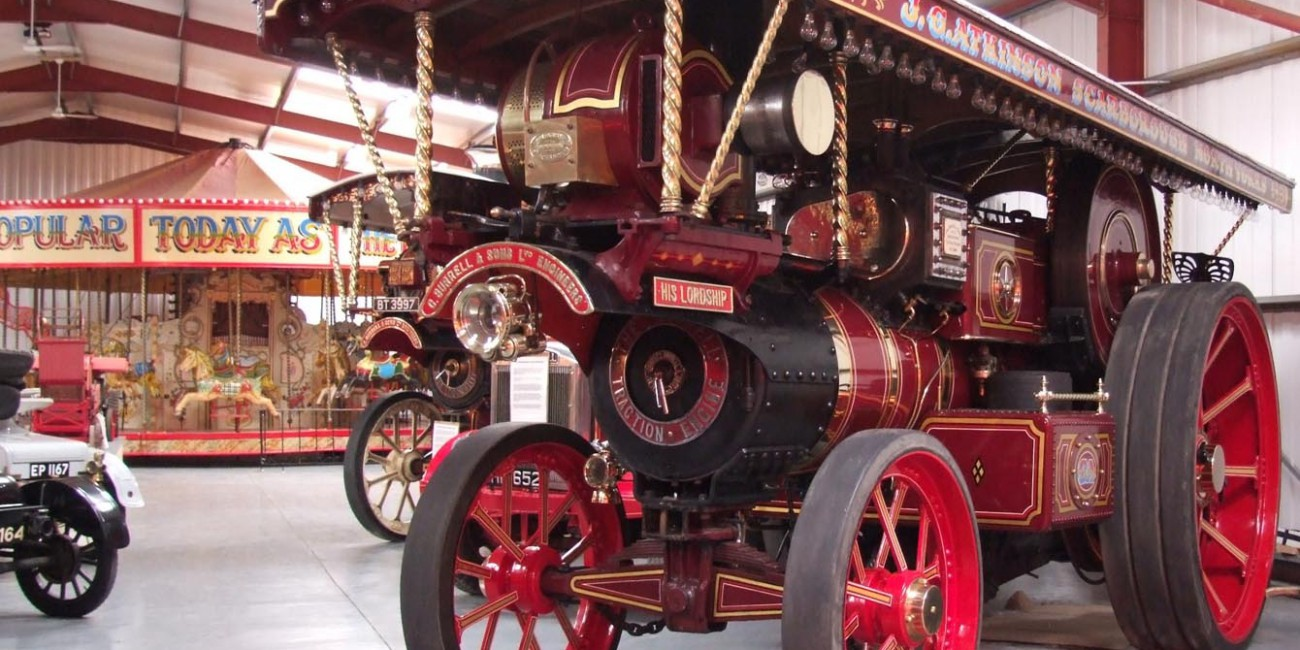 Our classic steam engine collection