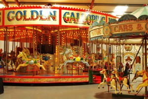 The Amazing Carousel rides at the Scarborough Fair Collection