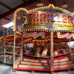 Thriller fair ground ride