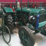 Antique tractors and farm equipment