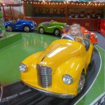 Toy car ride at the Scarborough Fair