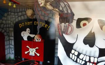 Ride the Ghost train at Scarborough Fair
